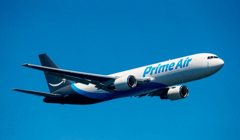flotte d'avions Amazon