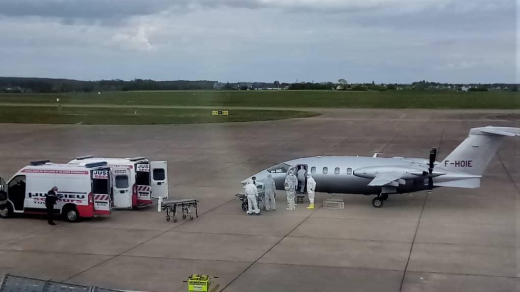 aviation sanitaire à Tours