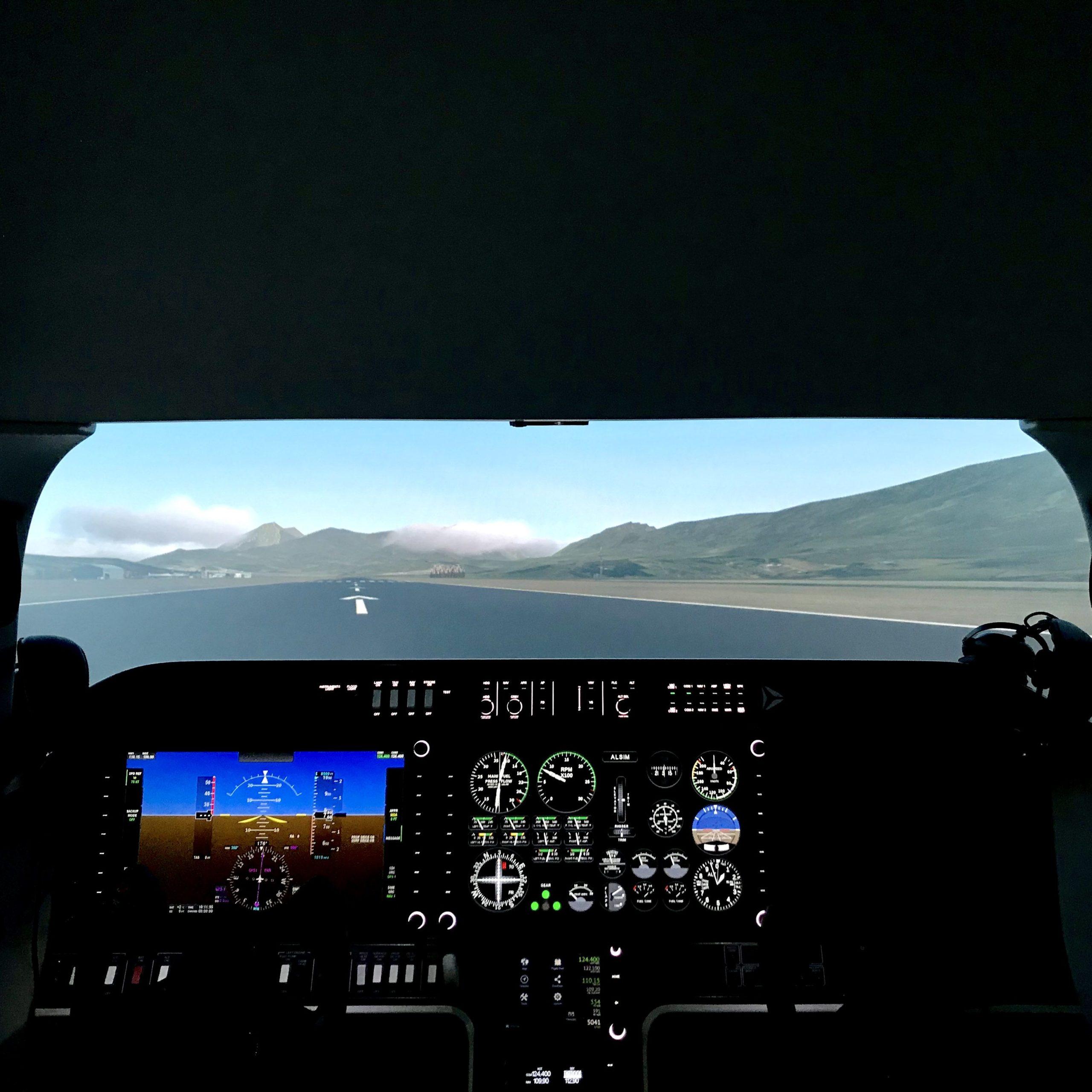 simulateur de vol APA Training