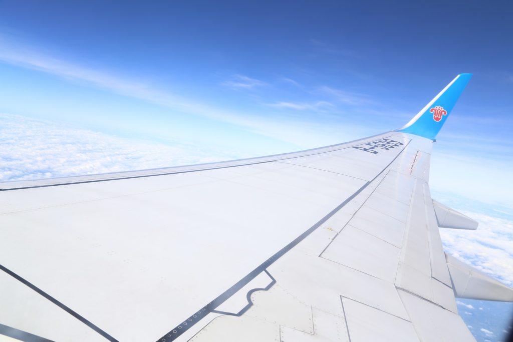 reprise du transport aérien chinois