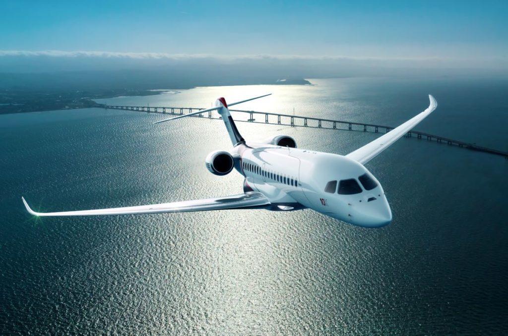 Falcon 10X Dassault aviation