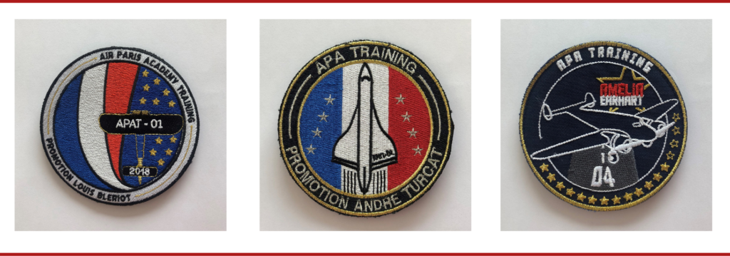 blason des élèves pilotes de ligne d'APA Training