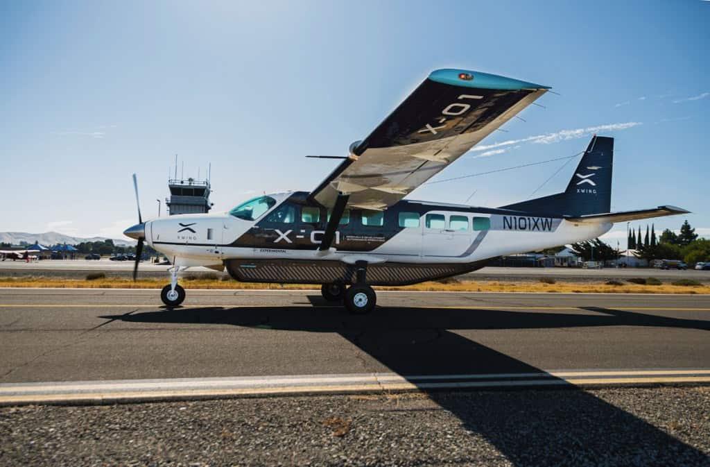 xwing avion autonome