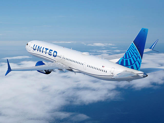 commande 270 avions united airlines